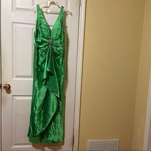 Faviana NY Emerald Prom dress